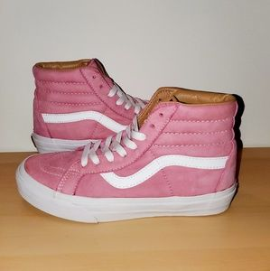 Womens Vans 7.5 Sk8 Hi Reissue Buttersoft Fuxia